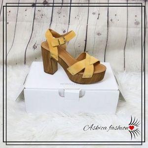 Topshop Vanessa High Heel Clog Sandal